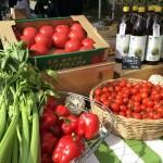 ビオマルシェの有機トマトやピーマンなど