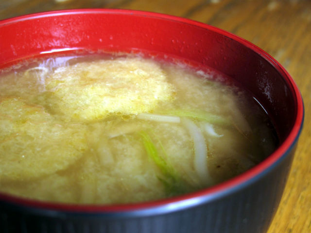 味噌汁(和風だし)